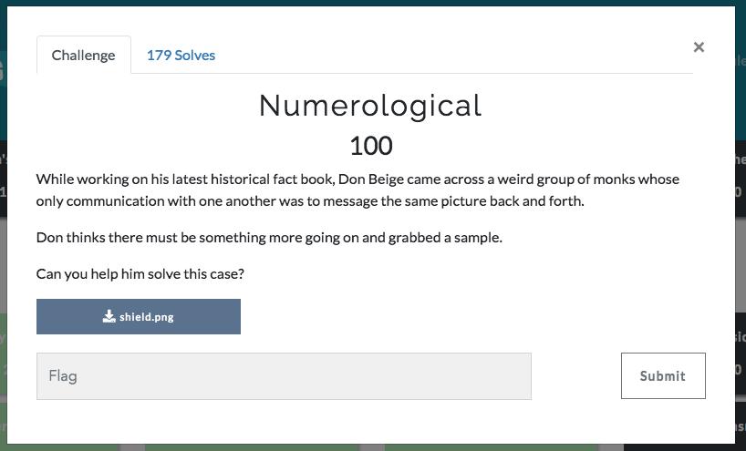 Numerological Screenshot